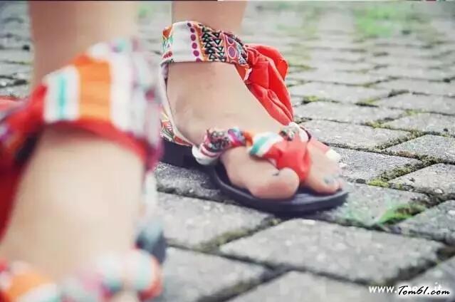 拖鞋的廢物利用的創意制作圖解教程