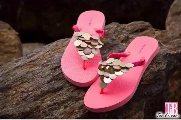 亮片涼鞋的廢物利用的創意制作圖解教程