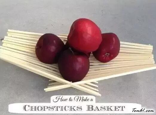 筷子的廢物利用的創意制作圖解教程