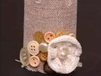 廢舊紙筒的廢物利用的創意制作圖解教程