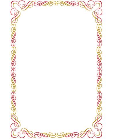 最简单的花边-黑板报版面设计图
