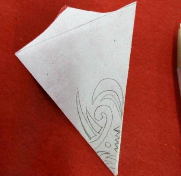 简单的入门剪纸方法步骤 儿童创意剪纸图案图片8