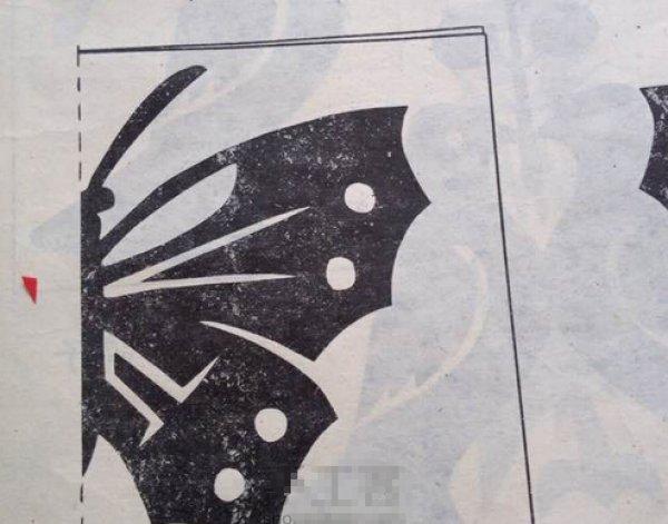 小学flash课件下载_花蝴蝶剪纸图案与图解教程_剪纸大全_手工制作大全_中国儿童资源网