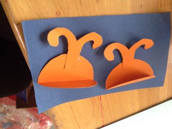 小蜜蜂剪纸方法,动物剪纸图案图片5