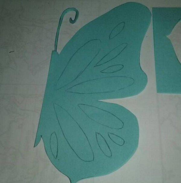 唯美的蝴蝶剪纸图案与图解教程