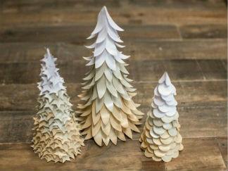 圣誕樹剪紙圖案與圖解教程3