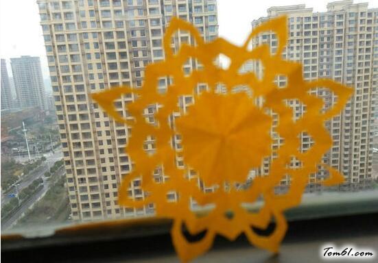 窗花剪紙圖案與圖解教程3