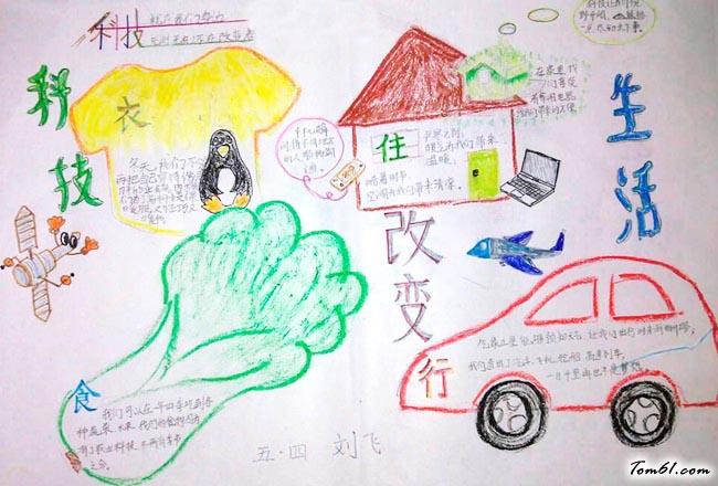 童话王国的手抄报版面设计图11
