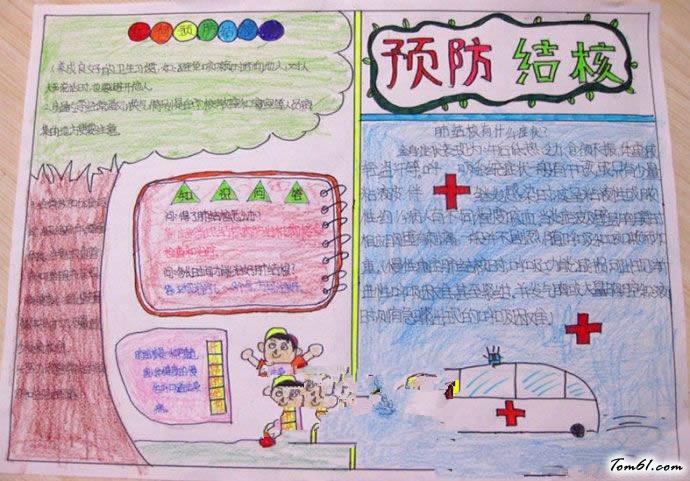 結核病的手抄報版面設計圖8