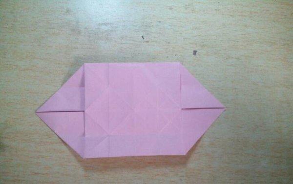 凤尾蝶的折纸图解与方法教程