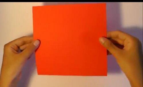 特别的玫瑰花折纸 简单的玫瑰花折纸教程图片3