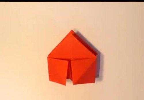 特别的玫瑰花折纸 简单的玫瑰花折纸教程图片6