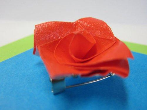 特别的玫瑰花折纸 简单的玫瑰花折纸教程