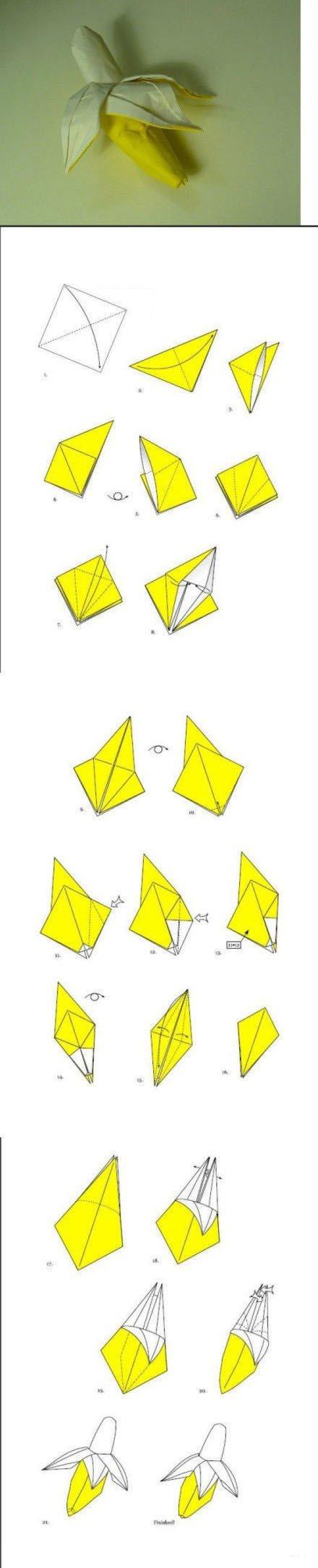 手工折纸大全图解图片3