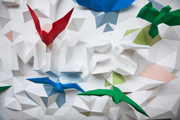 纸雕3d海报的折纸图解与方法教程