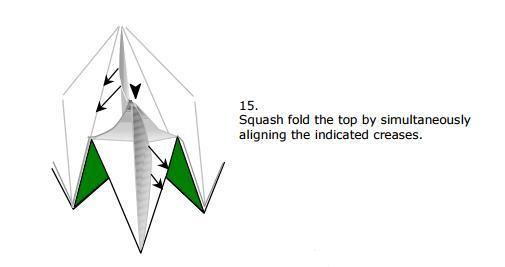 立体圣诞树折纸图解_折纸大全