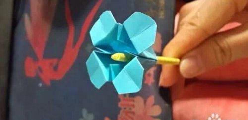 简单漂亮的四叶草2的折纸图解与方法教程