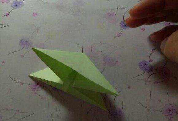 凤尾蝶2折纸图解与方法教程