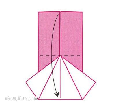 好玩动物帽子折纸图解与方法教程
