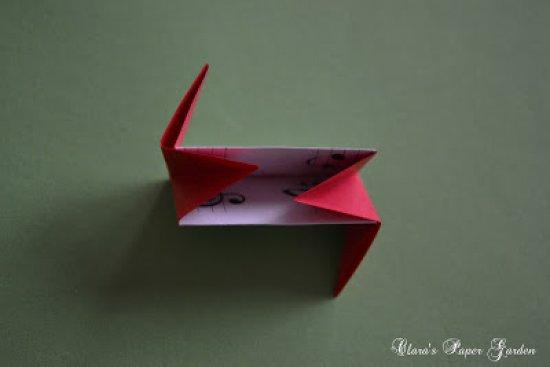 五角星花球的折纸图解与方法教程_折纸大全_手工制作