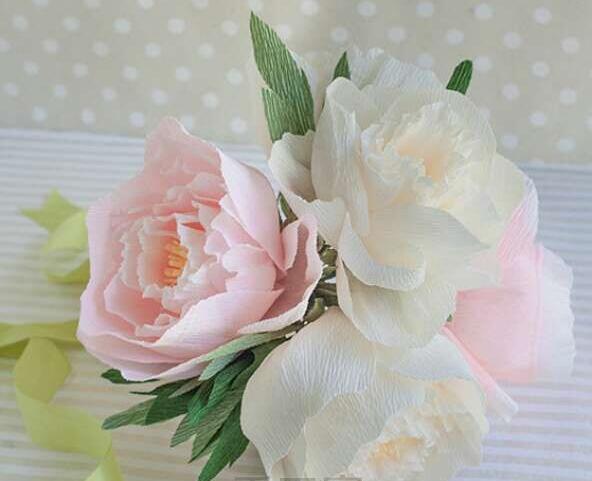 牡丹花的折纸图解与方法教程