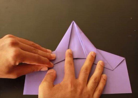 简单的飞机折纸_折纸大全_手工制作大全_中国儿童资源