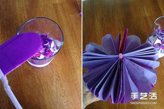 多层纸花的折纸图解与方法教程