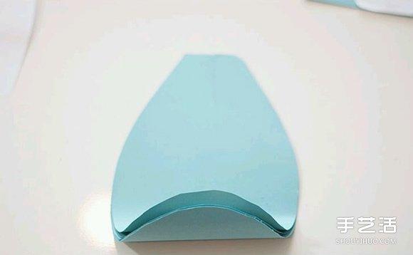 简单纸花的制作方法过程 手工纸花制作方法图解图片4