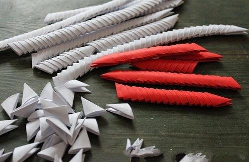 情人节天鹅折纸图解与方法教程