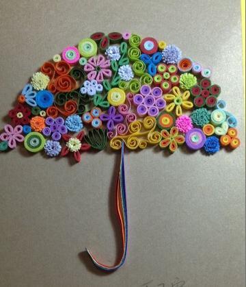 立体折纸雨伞_折纸大全_手工制作大全_中国儿童资源网