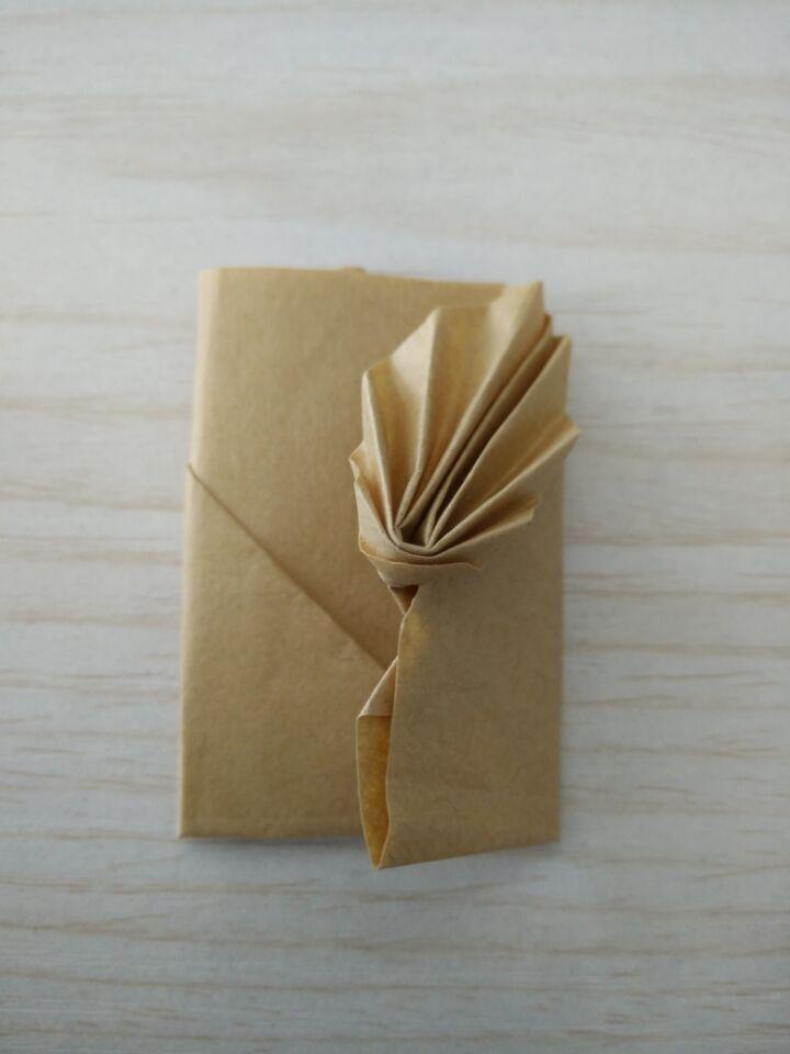 复古信封折纸图解与方法教程