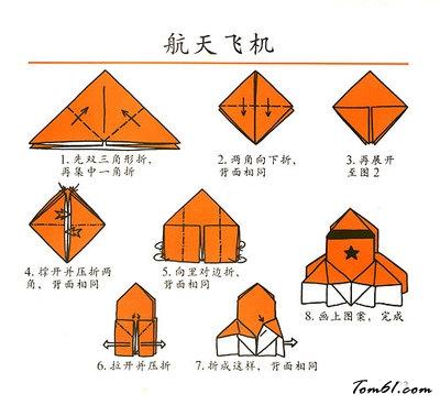 航天飞机2的折纸图解与方法教程