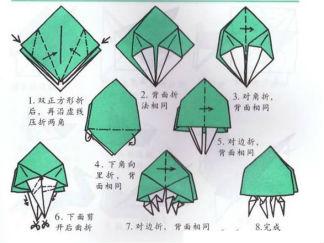 海蜇的折纸图解与方法教程