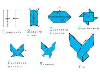 剪刀折纸图解与方法教程