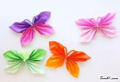 蝴蝶的折纸图解与方法教程3