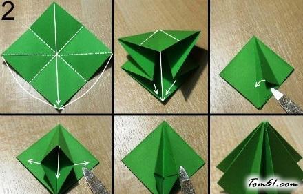 粽子手工折纸方法