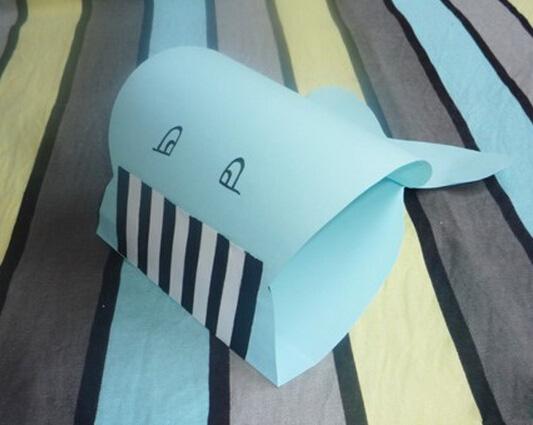海豚的折紙圖解與方法教程