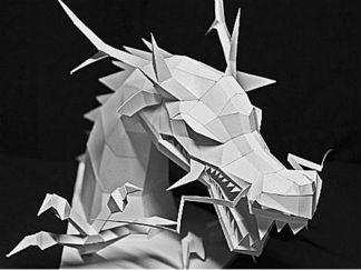 超酷龍首紙的手工制作教程圖解