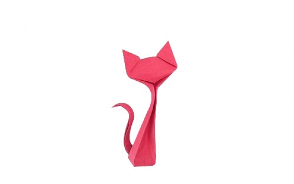 貓咪的折紙圖解與方法教程