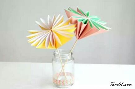 紙花的折紙圖解與方法教程4