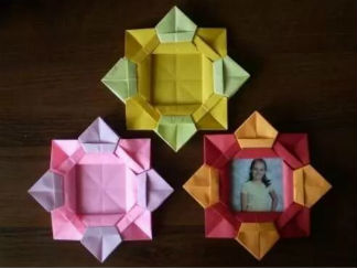 相冊的折紙圖解與方法教程2