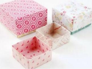 盒子的折紙圖解與方法教程3