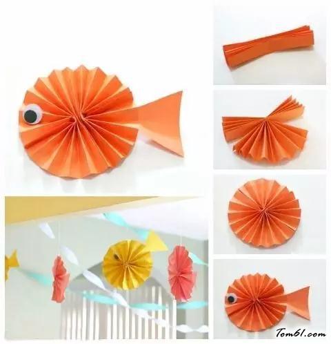 小魚的折紙圖解與方法教程4