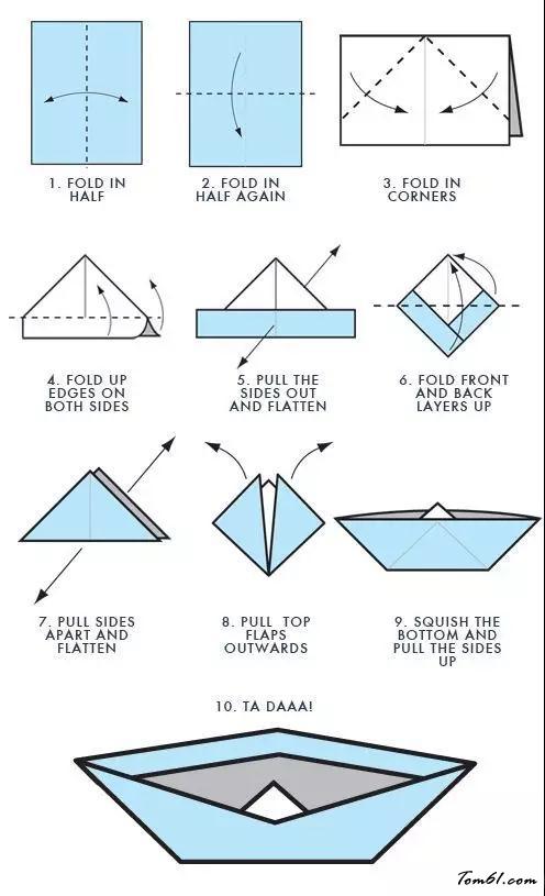 輪船的折紙圖解與方法教程2