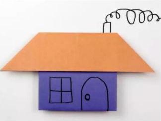房子折紙圖解與方法教程