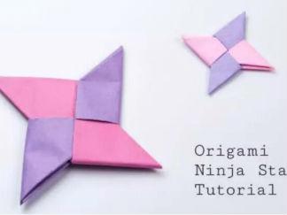 飛鏢的折紙圖解與方法教程