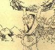 北京传说故事—摔龙石
