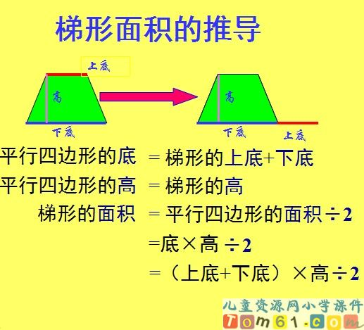 梯形的面积课件18