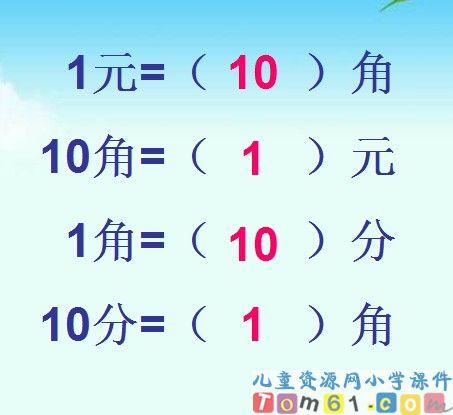 换币计算_人民币的简单计算课件13