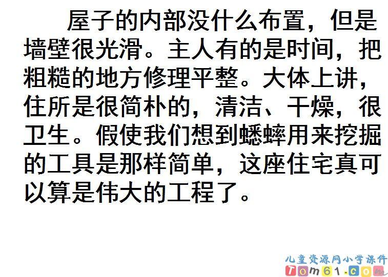 蟋蟀的住宅课件27_人教版小学语文四年级上册课件